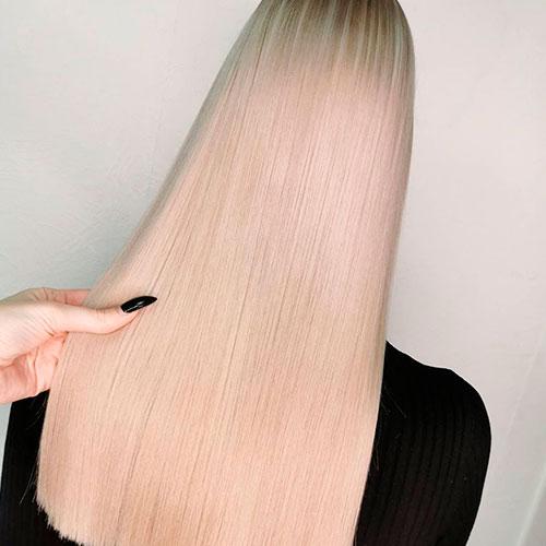 Окрашивание в блонд из темных волос в Калуге
